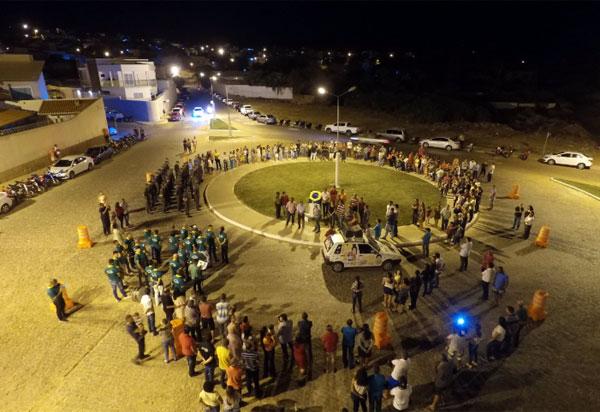 Sistema viário e de iluminação foi inaugurado pela prefeitura de Brumado