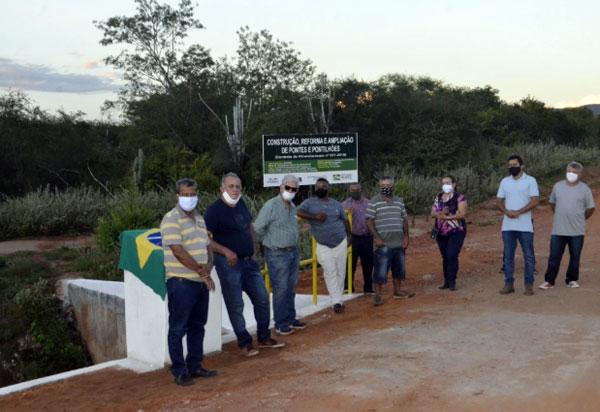 Prefeitura de Brumado inaugurou mais duas obras estruturantes na zona rural