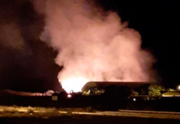Brumado: Incêndio atinge área de vegetação no IFBA