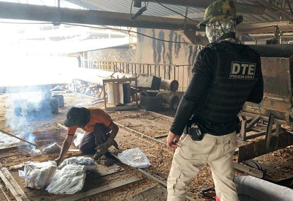 DTE de Vitória da Conquista incinera cerca de 200 kg de drogas