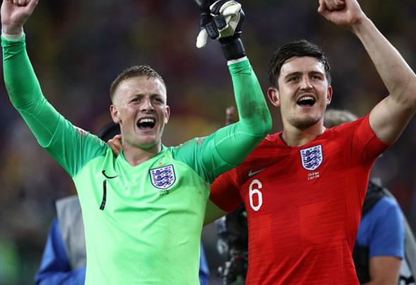 No último jogo das oitavas, Inglaterra elimina Colômbia nos pênaltis