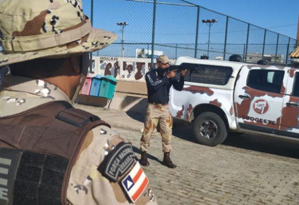 Caesg: policiais militares participam de Instrução do novo manual de abordagem policial
