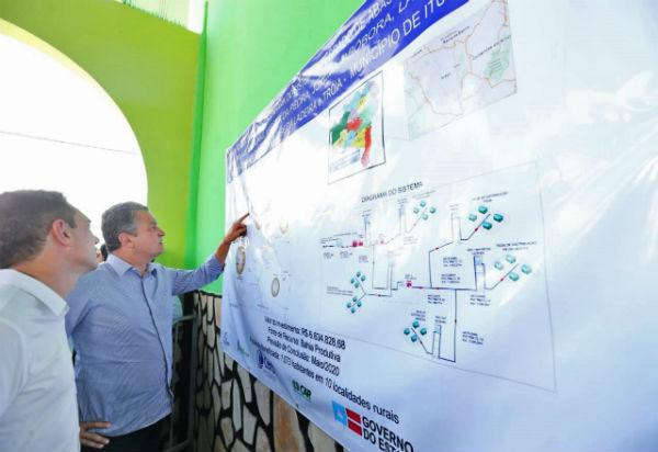 Ituaçu tem ordem de serviço no valor de R$ 6,6 milhões para abastecimento de água