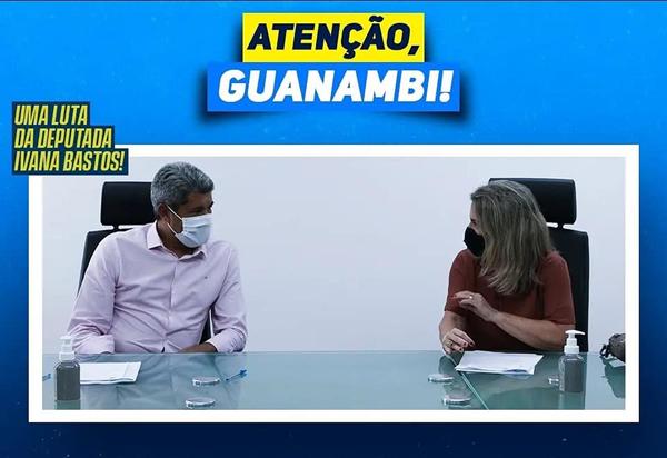 Ivana Bastos garante escolas em Tempo Integral para Guanambi