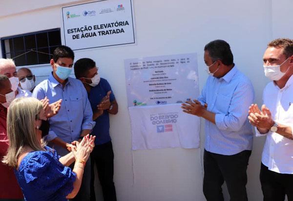 Ivana e Governador entregam grandes investimentos para Iuiu
