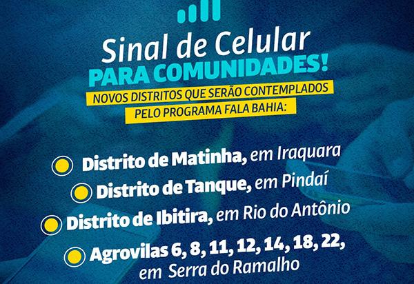 Ivana Bastos comemora a inclusão de mais municípios no Programa Fala Bahia