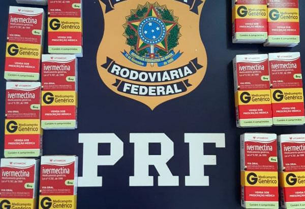 COVID-19: Homens são flagrados transportando quase 30.000 comprimidos de Ivermectina na BR 242 em Itaberaba