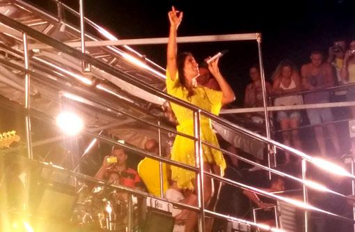 Ivete Sangalo fez show histórico em Caculé