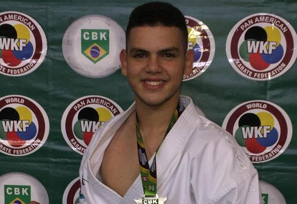 Atleta de Vitória da Conquista, Izaac Matos representará o Brasil no Pan Americano, no Equador