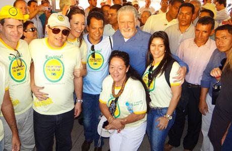 ANAGÉ: JAQUES WAGNER PARTICIPA DE MUTIRÃO DE SAÚDE