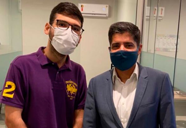 Brumado: Vereador João Vasconcelos esteve em reunião com ACM Neto
