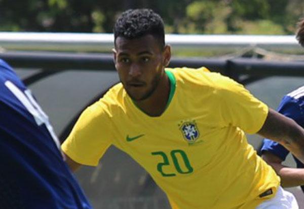 Junior Brumado marca e Seleção sub-20 vence o México em amistoso