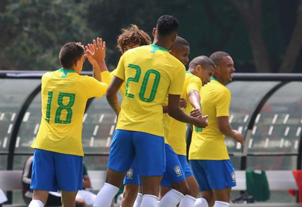 Seleção Brasileira Sub-20 vence o México por 1 a 0; Junior Brumado entra no segundo tempo