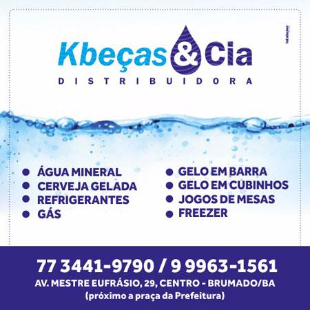 Kbeças & Cia - A sua distribuidora de bebidas e água mineral