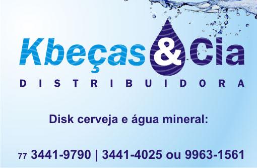 Brumado: Kbeças & Cia a sua distribuidora de bebidas e água mineral
