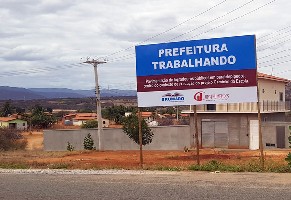 Brumado: obras de pavimentação são iniciadas na comunidade de Lagoa Funda