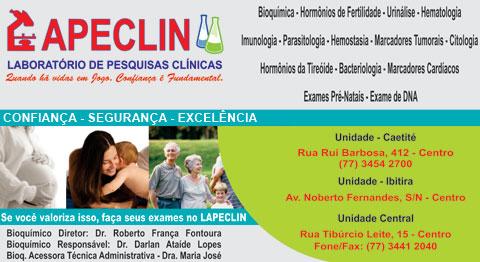 LAPECLIN O SEU LABORATÓRIO DE PESQUISAS CLÍNICAS