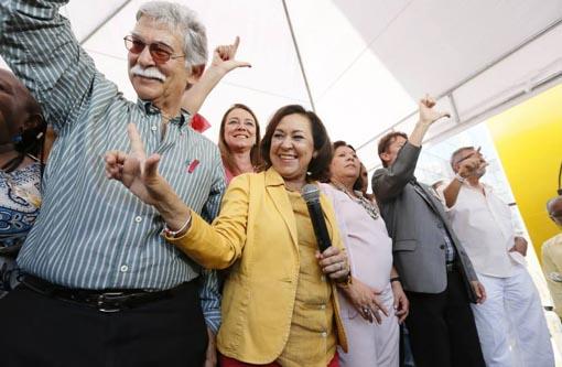 Eleições 2014: Lídice da Matta e Eduardo Vasconcelos inauguram comitê em Salvador