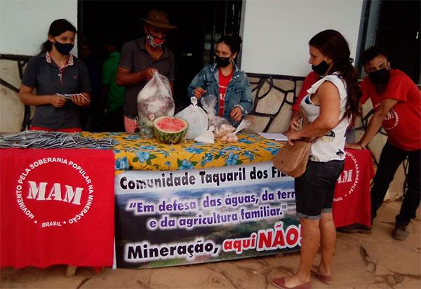 Comunidade de Licínio de Almeida (BA) recebe campanha contrária à mineração