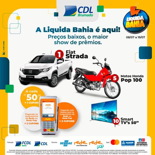 Brumado: Campanha Liquida Bahia acontece até hoje (19)