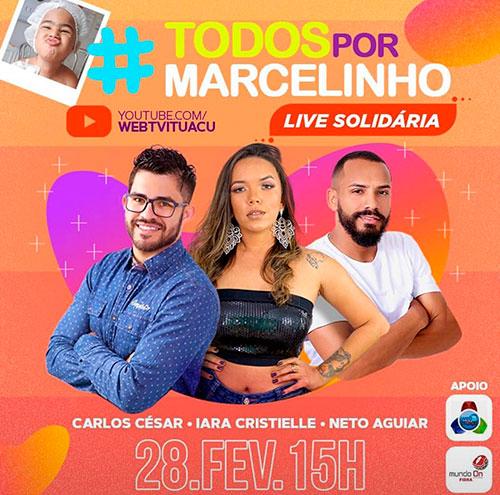 Ituaçu: Participe da Live Solidária em prol do pequeno Marcelinho