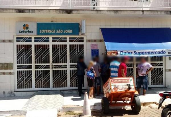 Dom Basílio: Casa Lotérica foi alvo de bandidos; valor roubado não foi divulgado