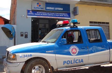Brumado: Lotérica é assaltada pela 3ª vez; bandido rouba R$ 4 mil