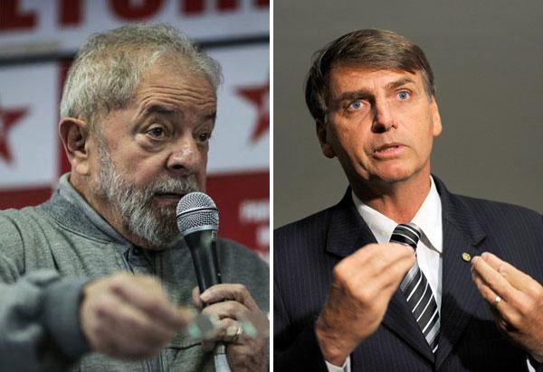 Paraná Pesquisas: Bolsonaro e Lula empatam no primeiro lugar em intenções de voto em SP