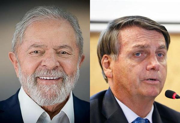 Pesquisa indica que Lula venceria Bolsonaro no 2º turno com 18 pontos de diferença
