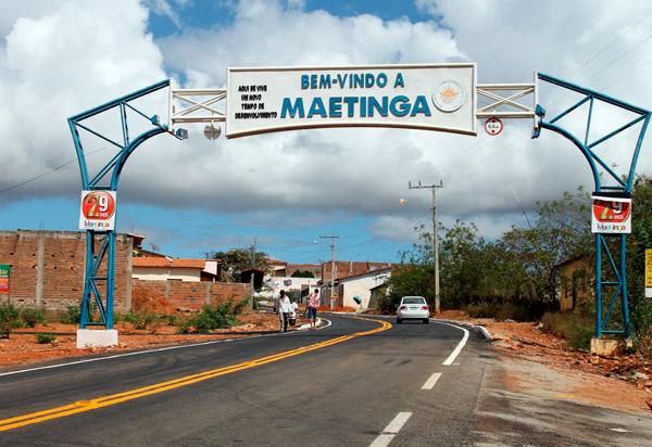Homem é detido em Maetinga acusado de dano a patrimônio particular