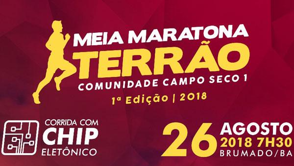 Brumado: Meia Maratona Terrão 2018 será realizada na Comunidade Campo Seco I neste domingo (26)