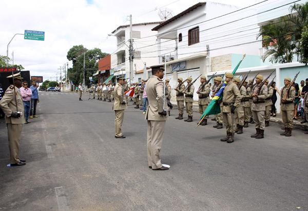 Veja as fotos da Solenidade de passagem de comando da 34ª CIPM em Brumado