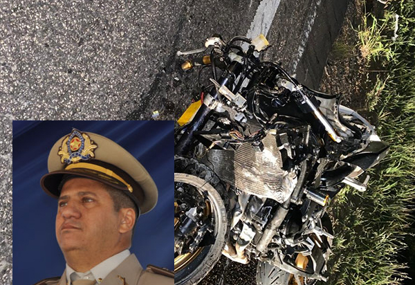 MP denuncia motorista de veículo envolvido na colisão que matou um oficial da PM em Cândido Sales