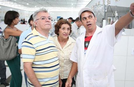 2012: MARIZETE VISITA FEIRA LIVRE DE BRUMADO