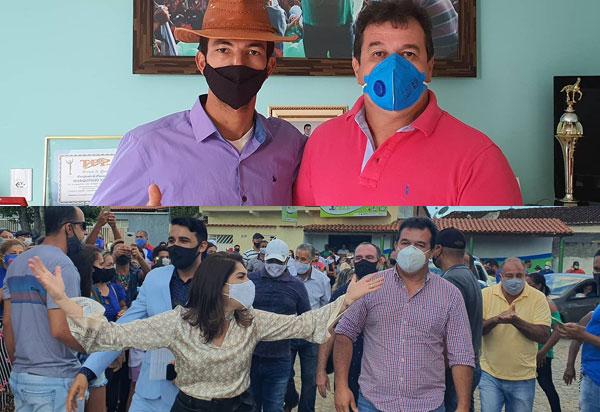 Deputado Marquinho Viana recebe pré-candidato de Mucugê e participa de convenção em Itambé