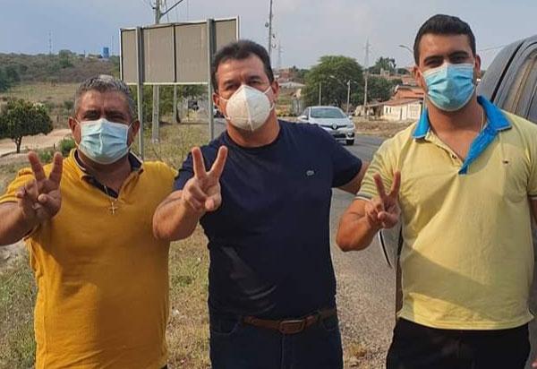 Deputado Marquinho Viana participa da campanha de Vavinha, em Aracatu