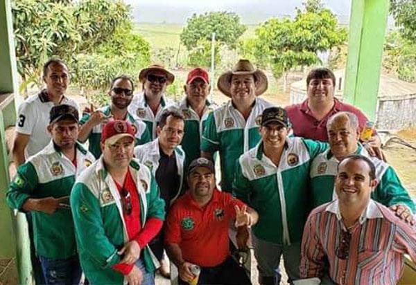 Deputado Marquinho Viana participa de evento com Amigos da Cavalgada de Barra da Estiva