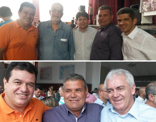 Deputado Marquinho Viana e autoridades estaduais e municipais se reúnem em plenária do Programa do PT