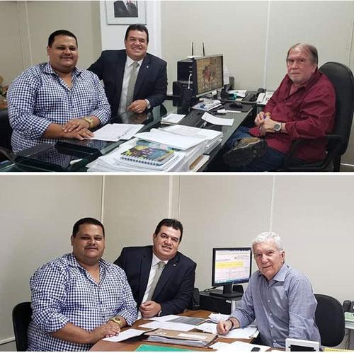 Deputado Marquinho Viana cobra na Seinfra sinal para celular e instalação de energia elétrica em municípios