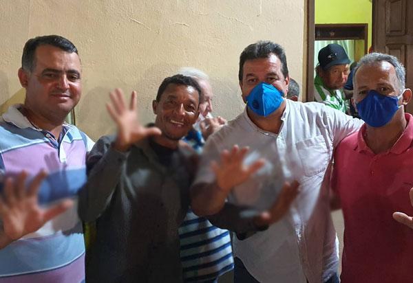 Deputado Marquinho Viana participa de ato político em Ituaçu
