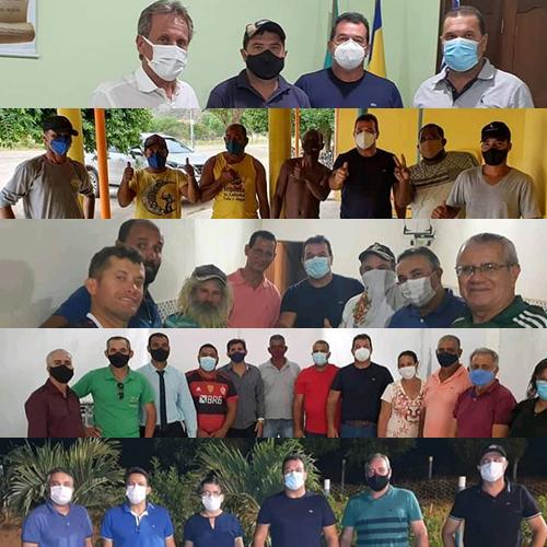 Deputado Marquinho Viana visita os municípios de Jussiape, Rio de Contas, Livramento e Dom Basílio