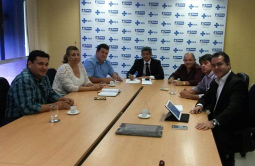 Deputado Marquinho Viana leva prefeitos à audiência com Secretário de Saúde