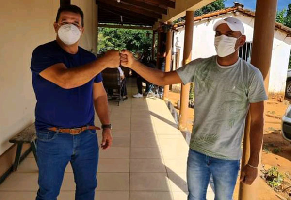 Deputado Marquinho Viana define ações de trabalho com o presidente da Câmara de Matina