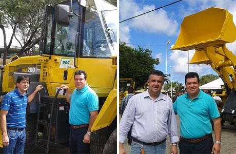 Marquinho Viana participa de entrega de tratores a prefeitos