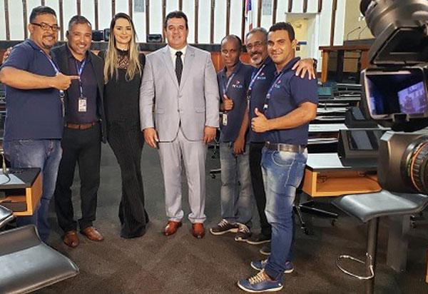 Deputado Marquinho Viana concede entrevista à TV ALBA