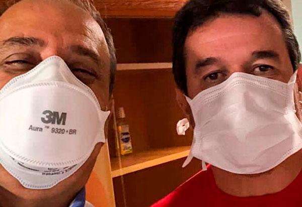 Após ter contraído do Coronavírus, deputado Marquinho Viana recebe alta