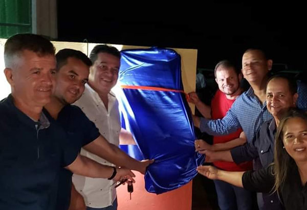 Deputado Marquinho Viana participa de inaugurações em Belo Campo