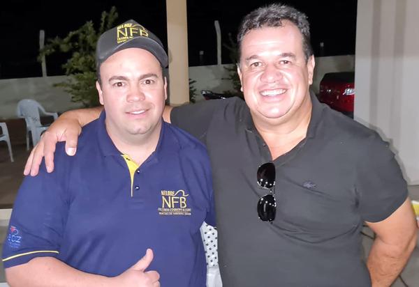 Deputado Marquinho Viana participa das comemorações do Dia do Campo, com amigos