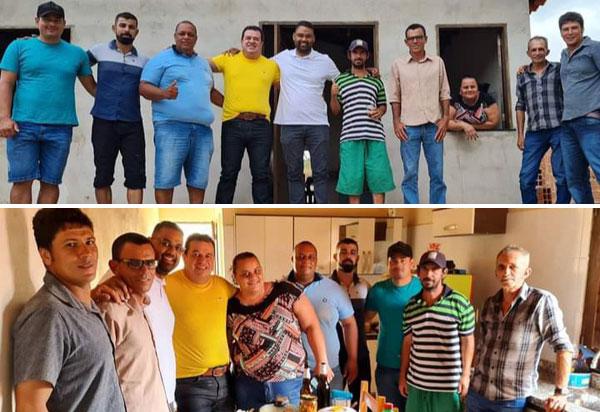 Deputado Marquinho Viana confraterniza com amigos e lideranças de Brumado, Mirante e Ituaçu