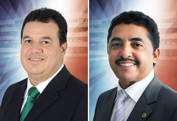 Marquinho Viana e Roberto Carlos disputam liderança do bloco PSB/PDT na Assembleia Legislativa